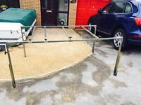 Trailer tent luggage rack
