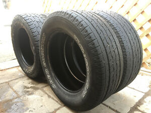 Set Of Toyo Open Country All Season Tires 265/60/18