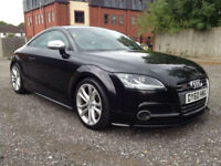 2010 AUDI TTS 2.0 TFSI QUATTRO BLACK **OVER £2,000 OPTIONAL EXTRAS**