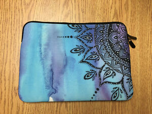 "Blue Mandala Macbook Pro 13"" Case"