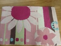 FOR SALE Mamas and Papas Scrapbook girl rug