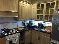 Used Kitchen units - wood