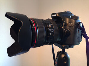 Canon 70d & EF24-105 L IS & Canon 50mm   $1950 Strathcona County Edmonton Area image 4