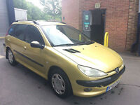 Peugeot 206 SW 1.4HDi XT**ESTATE**SOUGHT AFTER 1.4**£30 TAX PER YEAR**
