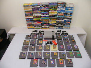 Huge NES Boxed Game Lot 208 Games 173 Boxed. Plus More!