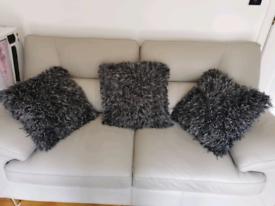 3 Grey Cushions