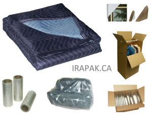 Moving Blankets for Moving or Storage, Boxes & Packing Supplies