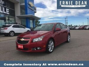 2014 Chevrolet Cruze 2LT  RS - LEATHER - SUNROOF