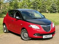 2012/12 CHRYSLER YPSILON 1.2 PETROL 5DR BLACK & RED EDITION 23K MILES