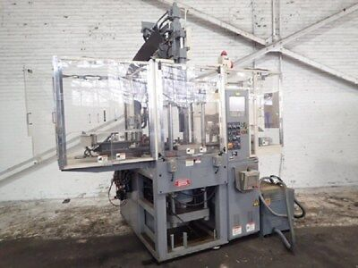 Nissei Th40 Vertical Injection Molding Machine 40 Us Ton Yr. 19998070