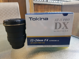 Tokina 12-24 for Nikon f mount