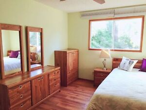 Big, clean and fully furnished bedroom for female student