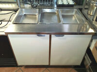 3 Well Steam Table for Sale !!Great Deal!!