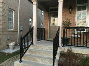 ALUMINUM RAILINGS , CHAIN LINK, WROUGHT IRON , GATES,COLUMNS