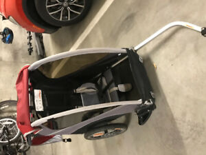 GUC Burley Solo bike trailer
