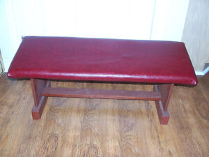 Kneeling/Prayer Bench 34 by 11 and 12 in tall Great for an outd