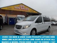 2015 65 MERCEDES-BENZ VITO TRAVELINER BLUETEC TOURER SELECT LWB 136 BHP AUTOMAT