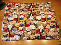 Christmas Bear fabric