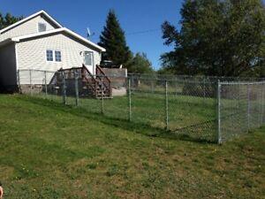 Large Outdoor Yard Dog Run