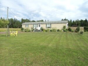 2 Acres Mini Home and Barn/Garage Penobsquis, NB