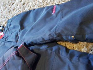 Girls size 5 winter coat and snowpants