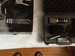 Apex 415B Studio Condenser Microphone Mint Condition