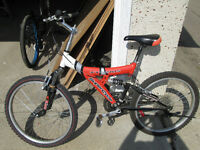 SUPERCYCLE XTI-21DS DUAL SUSPENSION MOUNTAIN BIKE