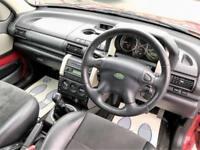 2006 Land Rover Freelander 2.0 TD4 Freestyle Hard Top 3dr Diesel red Manual