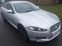2014 Jaguar XF 2.2TD ( 163ps ) ( s/s ) Auto Luxury Silver NOW SOLD