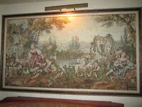Cadre tapisserie