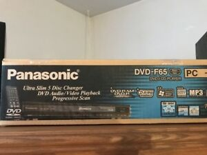PANASONIC DVD F-65 5 disques