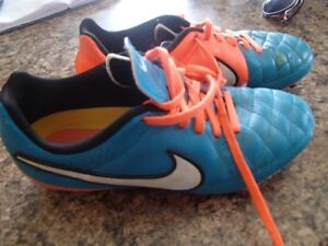 2 pair of soccer cleats