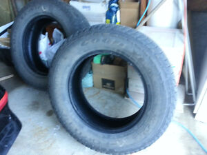 "18"" M&S Goodyear tires. . For sale.. reduced"