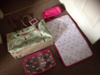 Baby changing bag and accessories yummy mummy