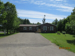 Income Property potential - 4 bedroom bungalow on 2 acres