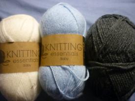 Knitting Essentials Baby Yarn