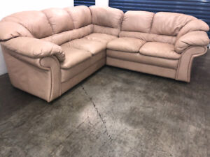 L - Shaped SECTIONAL - delivery