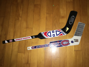 HABS MINI GOALIE STICKS