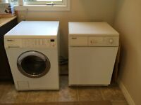 MEILE WASHER AND DRYER