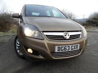 2013 63 VAUXHALL ZAFIRA 1.6 DESIGN 5D 113 BHP ** OUTSANDING VEHICLE , YES ONLY