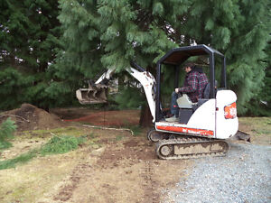 FOR HIRE? AC TRUCKING  and  MINI - EXCAVATOR  Work!