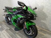 2019 KAWASAKI NINJA H2 SX SE SUPERCHARGED WITH ONLY 2415 MILES FROM NEW
