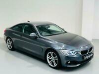BMW 4 SERIES 420D SPORT 2015 GREY *1 OWNER* 2 DOOR COUPE 2.0 DIESEL MANUAL F32