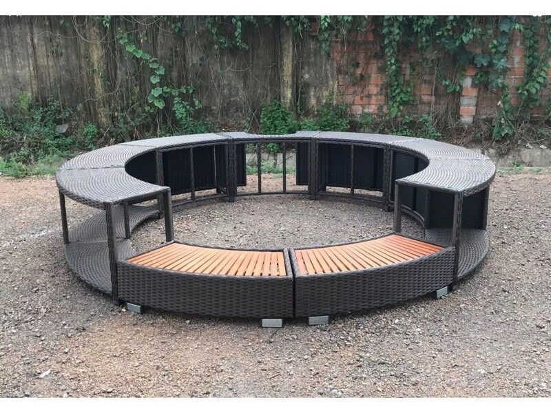 Lazy Spa Hot Tub Surround In Ely Cambridgeshire Gumtree