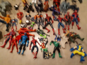 Super Heroes Action figure lot