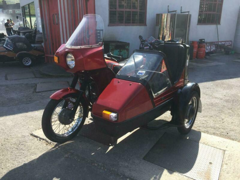 1988 Jawa 350 ts combination sidecar only 5 k recorded 1 owner before the  garage | in Congresbury, Bristol | Gumtree