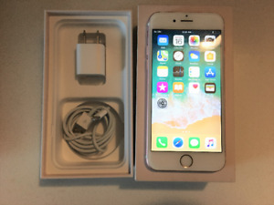 Apple iPhone 6s 64 GB Box, Screen Protector, Charger, Cord