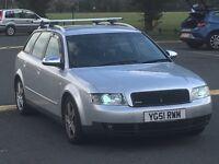 2002 AUDI A4 AVANT QUATTRO SPORT ESTATE XENONS RARE QUATTRO LOW MILES HPI CLEAR FSH