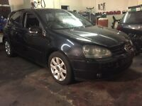 Vw golf mk5 2.0 tdi breaking