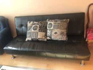 Couch, desk, chair, coffee table for sale